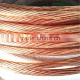 High conductivity of Copper bonded steel stranded wires for sale