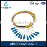 Low insertion loss single/multi mode outdoor fiber patch cord price