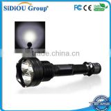 led aluminum flashlight 3000 lumens reinforced