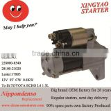 Japanese Car engine starter with solenoid starter switch for repair shop(028000-5060)