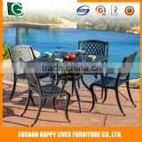 Factory direct sale new product garden rattan space saving outdoor furniture d