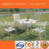 HL-6812 Hotsale Good Quality cast aluminum outdoor patio garden furniture Made in Foshan China Happylive Furniture