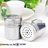 outdoor bbq stainless steel cruet stainless steel spice jar