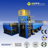 Aupu scrap metal scrap steel cutting bale machine have CE certification