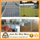 traffic barricade /construction use Modular and Portable Event Temporary Barrier Fence 360 degr welded steel