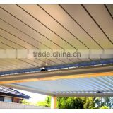 NEW Design Factory Price High Quality Fashionable automatic Aluminum Louver Roof in China