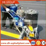 extruded concrete manual road curb machine