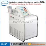 2016 newest facial beauty equipment anti-wrinkle machine no-needle mesotherapy injection device