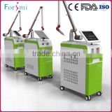 New advanced professional vertical nd-yag tattoo removal yag laser equipment with operation system