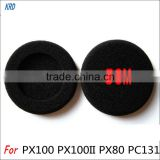 5CM Diameter Sponge Ear Pads Earpads Ear Buds For Sennheiser PC130 PC131 PX100 H500 Earphones