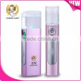 USB Charge Portable Hand Held Face Mist Spray Salon Electric Facial Steamer