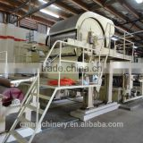 1092mm good quality Toilet Paper making machine! Raw material: waste paper,straw,sugarcane bagasse