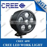 2013 Promotion Item JG-WT660 CREE 60W LED Work Light With Free Cover For Offroad SVU ATV Truck Tractor