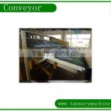 leather tannery spraying machine conveyor belting manufacturer