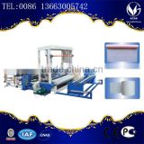 PP flat yarn making machine/sulti rope machine, plastic flat yarn making machine for flour bag production line