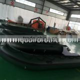 4.3m aluminum hull inflatable boat for sport