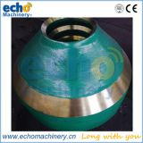high manganese Sandvik CS440 cone crusher spare parts mantle and concave for stone secondary crushing