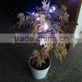 factory new product self design wire line inside potted plant led lighting tree
