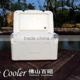 80L Cooler Box/Ice Chest for fishing with wheels BZ-A80W; PLASTIC ICE CHEST FOR FISHING