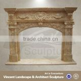 Marble Fireplace Surrounds, Stone Fireplace Mantels, Electric Fireplace Marble VFM-NB092 C