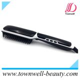Hair Straightening Brush Straightener Brush with Ion Generator