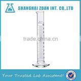 High Borosilicate Measuring Cylinder with Spout Hexagonal Base, Graduated