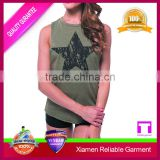 Wholesale Running Singlet/ Loose Bamboo Tank Tops For Women