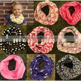 30 colors Infant Toddlers Wave Loop Chevron Infinity Scarves Baby Accessories 20*120cm baby cotton infinity scarf women