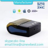 58mm Android mobile printer for receipt barcode printing