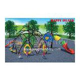 Kids Outdoor Climbing Frame,  Kids Climbing Equipment For Outdoor Play System With Visible Tunnel