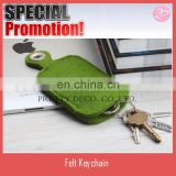 New style felt key case holder