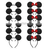 12pcs mickey and Minnie mouse head wear set