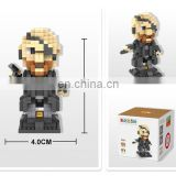 One-Eyed Man Pirate Building Blocks Mini Diamond Set