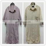 used clothing dealer sydney second hand clothes 100%cotton shirt