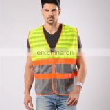 custom various new polo reflective safety jacket