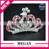 Colorful sparking hari comb children 's hair accessories Princess crown crystal hairpin combs