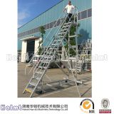 Industrial Aluminium Platform Ladder with Height of 4m
