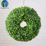 china factory artificial christmas wreath grass