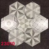 230X200mm Muti-Pattern Cement Porcelain Hex Tile
