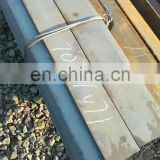 Hot Selling Crane rail QU70 for railway and fastener