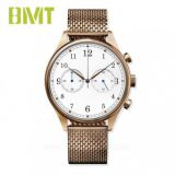 VT-SS1501 WATCH FACTORY OEM CLASSIC MEN'S STEEL MESH BAND CHRONOGRAPH WATCH