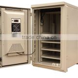 SK-235 free standing sheet metal temperature communication outdoor cabinet with air conditioner/cooler