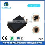 Used mobile phone single USB port travel charger 5W with high efficiency