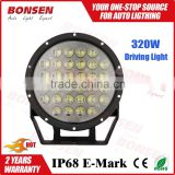 2016 the best price 9inch 320W LED Driving Light Round Spot High for 4x4 Off-road SUV RV Jeep Wrangler 4WD Truck