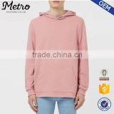 Custom Cotton French Terry Pink Plain Oversized Fit Hoodies                                                                         Quality Choice