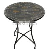 Outdoor mosaic bistro table garden sets home furniture