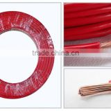 High quality pvc shield copper strand flexible electric wire and house wiring electrical cable