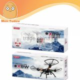 2015 newest products X8W WIFI quadcopter with camera FPV quadcopter rc drone paypal