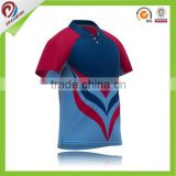 Custom made team logo and name cricket jersey sublimation printing cricket apparel wholesale cricket uniform