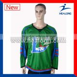 100% polyester Canada sublimation hockey jersey sales